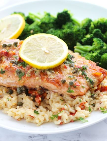 Salmon Piccata Recipe